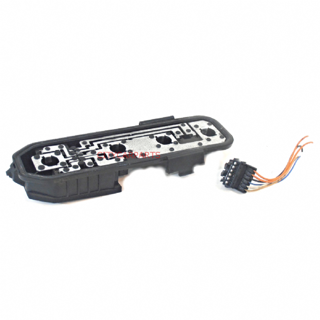 Renault Clio Mk2 Models From 1998 To 2001 Rear Bulb Holder Lamp Light Black With Wiring Harness